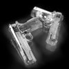 Freeze! Gun Shaped Ice Cubes