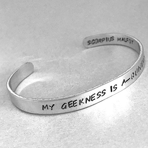 Harry Potter Cursed Child Bracelet - My Geekness is A-Quivering - Scorpius Malfoy