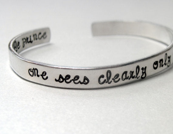 The Little Prince Bracelet - One Sees Clearly Only With the Heart