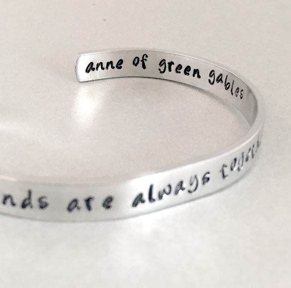 Anne of Green Gables Bracelet - True Friends are Always Together