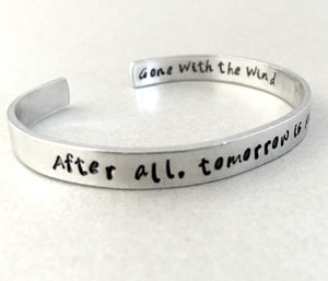 Gone With The Wind Bracelet - Tomorrow is Another Day