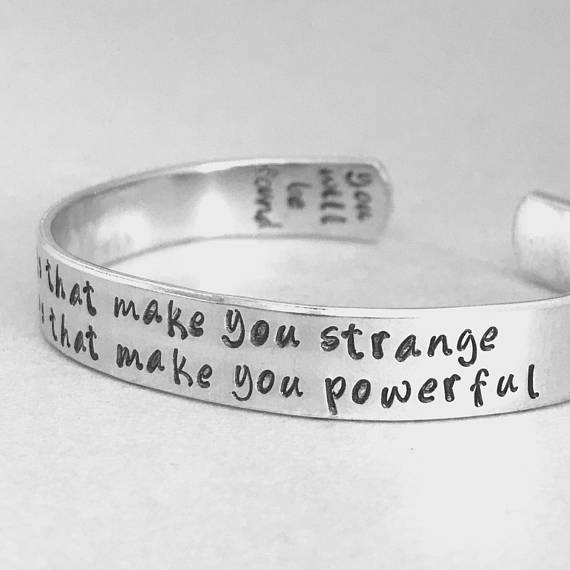Dear Evan Hansen Bracelet - The Things That Make You Strange