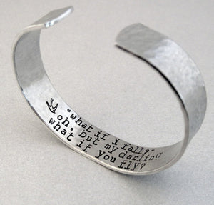 Secret Message Bracelet - What If You Fly?