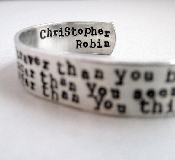 Winnie The Pooh Bracelet - You Are Braver