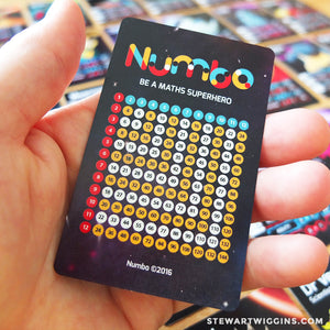 Deck of Numbo Cards - Season One