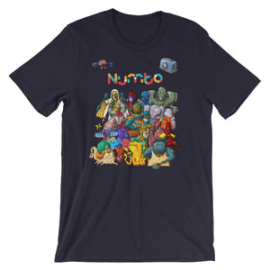 Numbo Characters Short-Sleeve Unisex T-Shirt