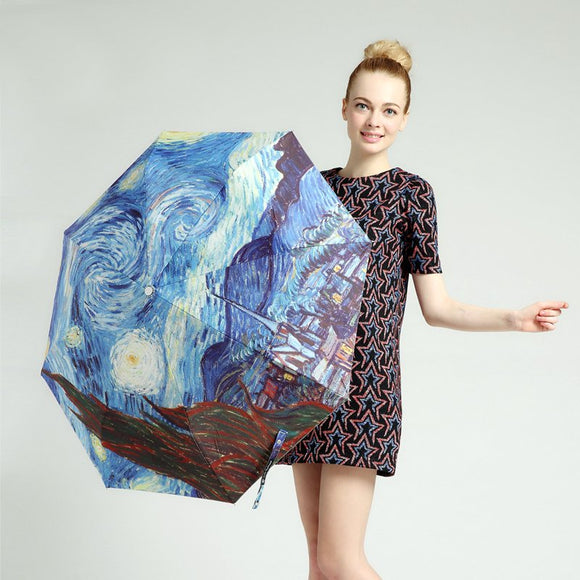 Van Gogh Starry Night Umbrella - Broadwood Mercantile
