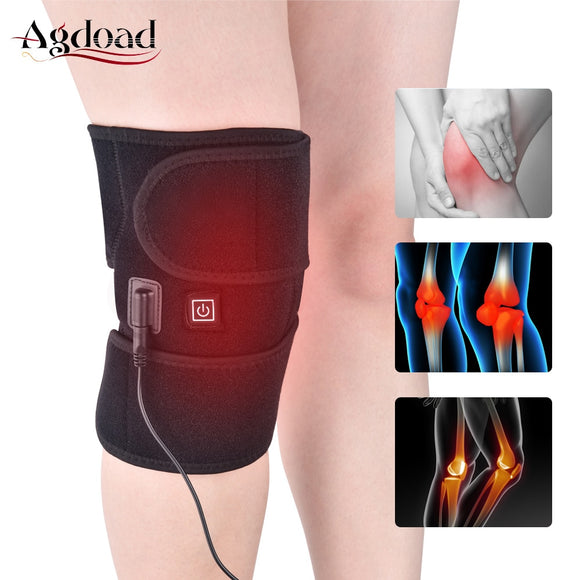 Knee Brace with Infrared Heating, Relieve Knee Joint Pain - Broadwood Mercantile