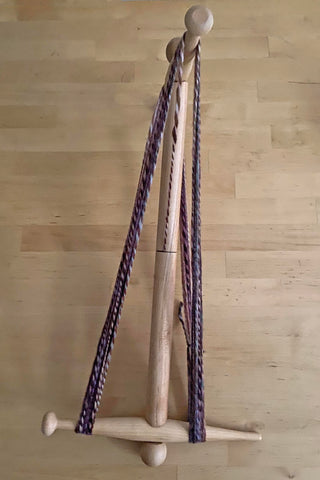 2-yard skein on nancy's niddy noddy