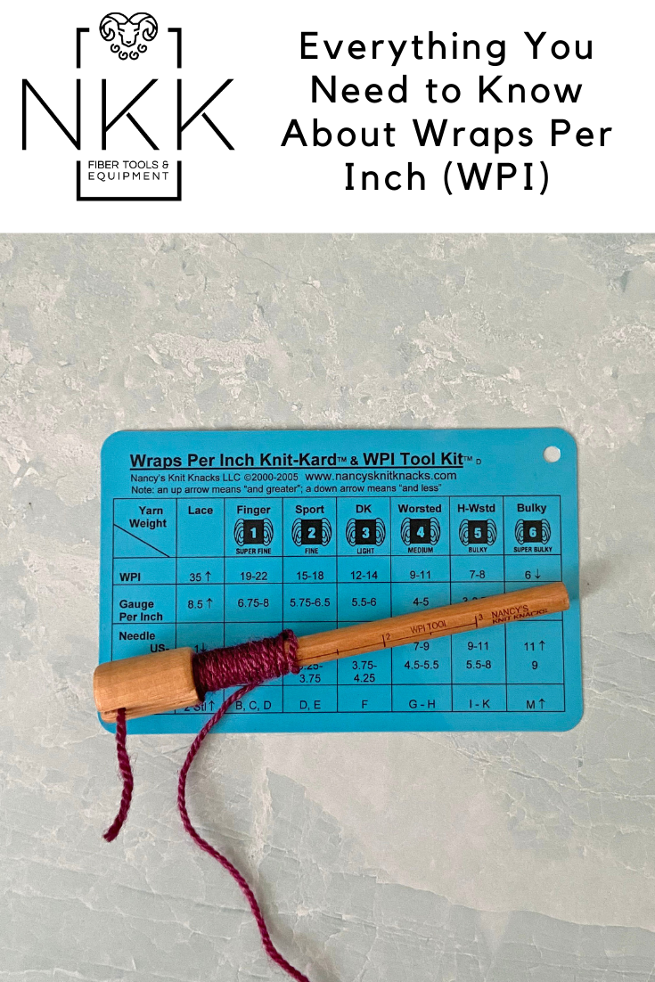 Yarn Thickness: Everything You Need to Know About Wraps Per Inch (WPI)