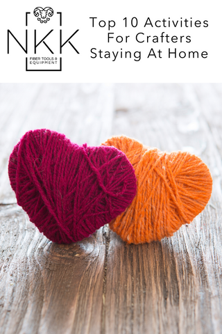 Top 10 Activities For Crafters Staying At Home - Nancy's Knit Knacks Blog
