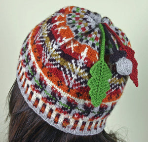 Fall-ing Leaves Hat Pattern