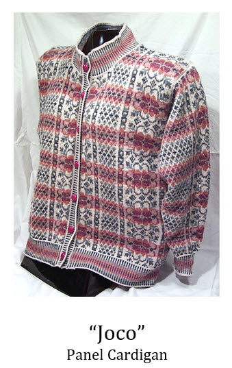 Joco Panel Cardigan Sweater Pattern