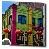 Colorful Chinatown San Francisco Gallery Mini Canvas Print - Jim N Em Designs