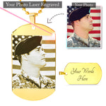 Personalized Etched Dog Tag - Jim N Em Designs