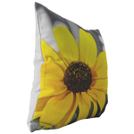 Black Eyed Susan Sunflower Selective Color Yellow Flower Floral Garden Throw Pillow Home Decor - Jim N Em Designs