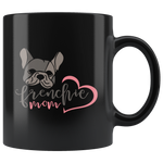 Frenchie Mom Mug Black - Jim N Em Designs