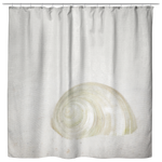 Seashell Sand Beach Shower Curtain Bathroom Decor - Jim N Em Designs