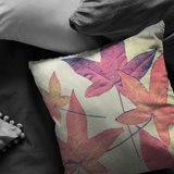 Fall Leaves Throw Pillow Home Decor - Jim N Em Designs