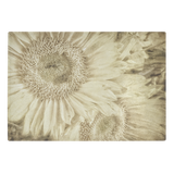 Sepia Sunflowers Glass Cutting Board Kitchen Decor Flower Floral Garden - Jim N Em Designs