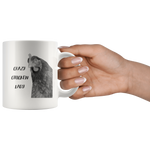 Crazy Chicken Lady Hen 11 oz Mug - Jim N Em Designs