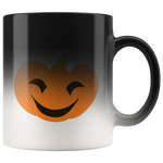 Cute Jack O' Lantern Color Change Mug - Jim N Em Designs