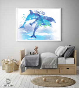 Dolphin Wall Art