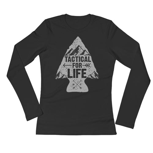 Arrow - Ladies' Long Sleeve T-Shirt