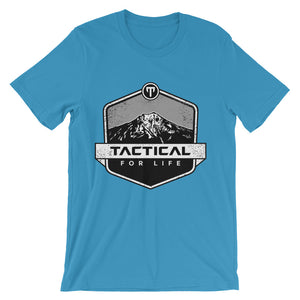 Top of the Mountain - Unisex short sleeve t-shirt