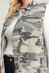 army cargo pocket vest