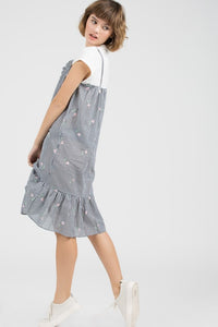 one piece tee spaghetti dress