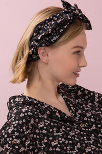 elastic pamper bow headband