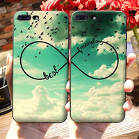 "Coque ""Best Friends"" iPhone XR/iPhone XS/iPhone XS Max/iPhone X/8/8 Plus/7/7 Plus/6s/6s Plus/6/6 Plus/5/5s/SE - Pomme Addict"