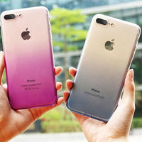 "Coque Déco 🎨 "" degradé "" iPhone Xs / Xs Max / Xr / X / 8 Plus / 8 / 7 Plus / 7 / 6 Plus / 6 / SE / 5s - PommeAddict.fr"