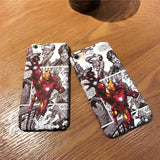 Coque Iron Man Comics pour iPhone XR/iPhone XS/iPhone XS Max/iPhone X/8/8 Plus/7/7 Plus/6s/6s Plus/6/6 Plus/SE/5s/5 - Pomme Addict