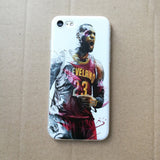 "Coque Basket 🏀 "" LeBron James #4 "" iPhone Xs / Xs Max / Xr / X / 8 Plus / 8 / 7 Plus / 7 / 6 Plus / 6 / SE / 5s - PommeAddict.fr"