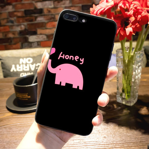 "Coque Meilleurs amies 👦👧 "" My honey 💓 "" iPhone Xs / Xs Max / Xr / X / 8 Plus / 8 / 7 Plus / 7 / 6 Plus / 6 / SE / 5s - PommeAddict.fr"