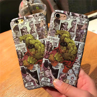 Coque Hulk Comics pour iPhone XR/iPhone XS/iPhone XS Max/iPhone X/8/8 Plus/7/7 Plus/6s/6s Plus/6/6 Plus/SE/5s/5 - Pomme Addict