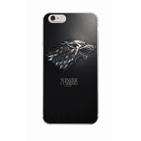 "Coque Série 🎬 "" Game Of Thrones ( Winter is coming ) "" #3 iPhone Xs / Xs Max / Xr / X / 8 Plus / 8 / 7 Plus / 7 / 6 Plus / 6 / SE / 5s - PommeAddict.fr"