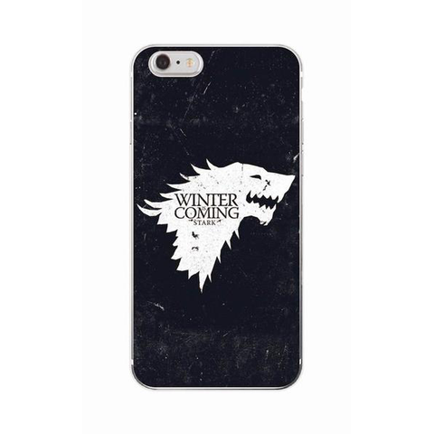"Coque Série 🎬 "" Game Of Thrones ( Winter is coming ) "" #2 iPhone Xs / Xs Max / Xr / X / 8 Plus / 8 / 7 Plus / 7 / 6 Plus / 6 / SE / 5s - PommeAddict.fr"
