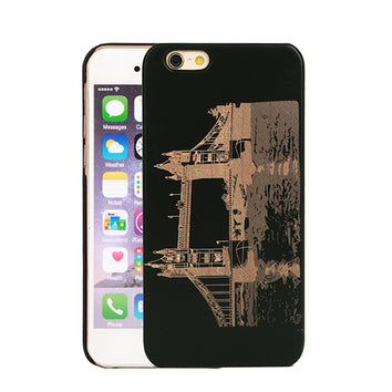 Coque Tower bridge ? Londres ?? en Bois naturel pour iPhone 8/8 Plus/7/7 Plus/6s/6/5/5s/SE - Pomme Addict