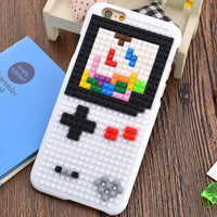 Coque Game Boy Tetris #2 🎮 en Lego pour iPhone 8/8 Plus/7/7 Plus/6s/6s Plus/6/6 Plus - Pomme Addict