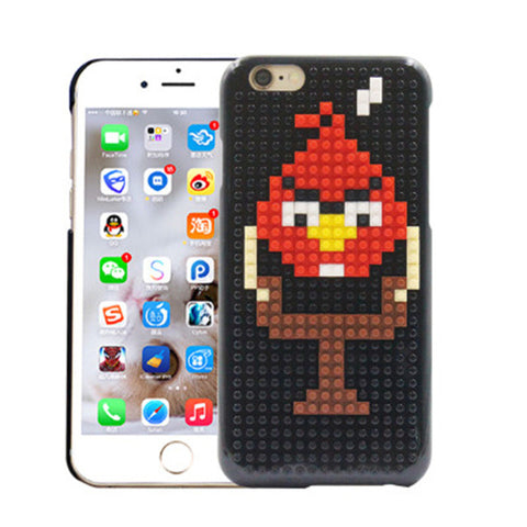 "Coque Lego® "" Angry Birds "" iPhone Xs / Xs Max / Xr / X / 8 Plus / 8 / 7 Plus / 7 / 6 Plus / 6 / SE / 5s - PommeAddict.fr"