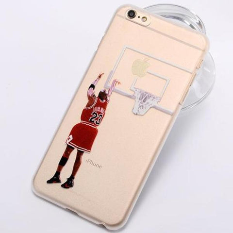 Coque Michael Jordan NBA Basket Ball Sport shoot iPhone X/iPhone 8/iPhone 8 Plus/iPhone 7/iPhone 7 Plus/iPhone 6s/iPhone 6s Plus/iPhone 6/iPhone 6 Plus/iPhone 5/iPhone 5s/iPhone SE.
