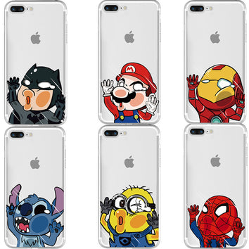 Coque fun souple iPhone - Pomme Addict