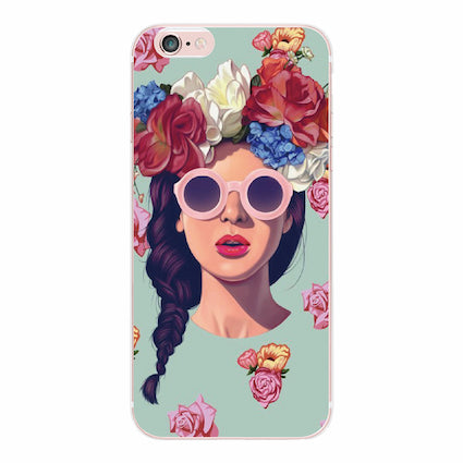 "Coque Déco 🎨 "" girly "" iPhone Xs / Xs Max / Xr / X / 8 Plus / 8 / 7 Plus / 7 / 6 Plus / 6 / SE / 5s - PommeAddict.fr"