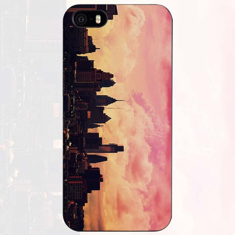 "Coque Pays 🌍 "" New York paysage 🇺🇸 "" iPhone Xs / Xs Max / Xr / X / 8 Plus / 8 / 7 Plus / 7 / 6 Plus / 6 / SE / 5s - PommeAddict.fr"