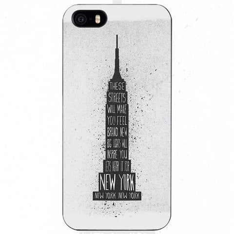 "Coque Pays 🌍 "" NY - Empire State of Mind 🏙🇺🇸 "" iPhone Xs / Xs Max / Xr / X / 8 Plus / 8 / 7 Plus / 7 / 6 Plus / 6 / SE / 5s - PommeAddict.fr"