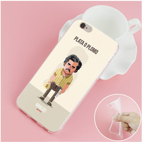 coque iphone x narcos
