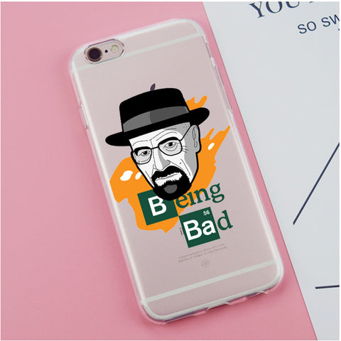 "Coque ""Being Bad"" pour iPhone X/8/8 Plus/7/7 Plus/6s/6s Plus/6/6 Plus/5/5s/SE/5c/4/4s - Pomme Addict"